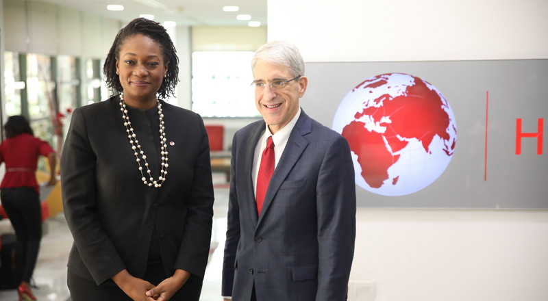 Yale President Peter Salovey discusses bi-directional partnerships with Tony Elumelu Foundation
