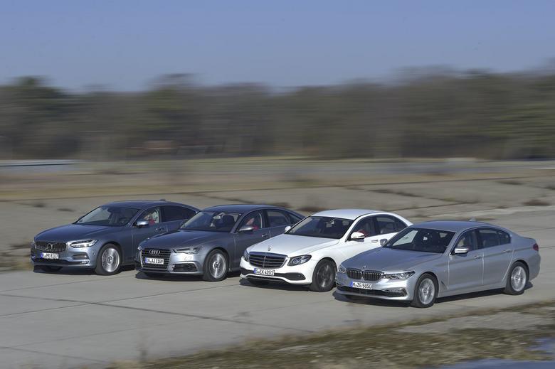 Najcięższy Mercedes  ma najlepsze osiągi oraz  najmniej pali.