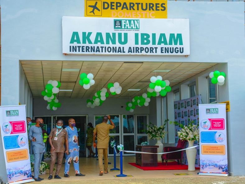 FG reopens Akanu Ibiam International Airport Enugu. [@FAAN_Official]