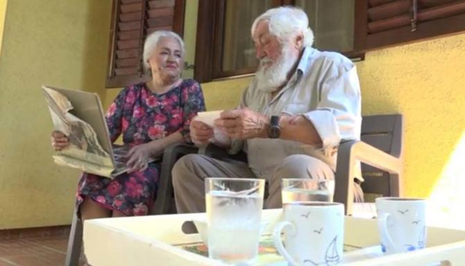 Đorđe i Zagorka Lečić - 55 godina ljubavi