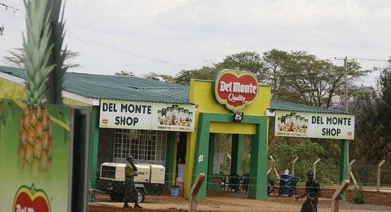 A Del Monte production shop