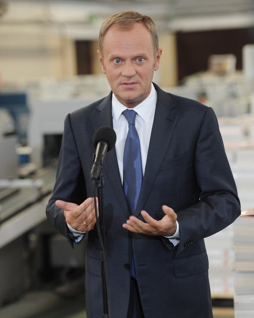 Premier Donald Tusk.