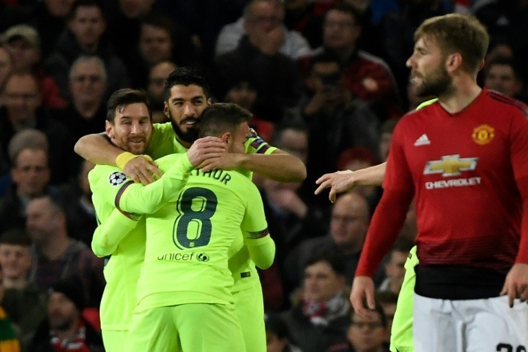 Despite being second-best all through the game. Barcelona got an away win against Manchester United