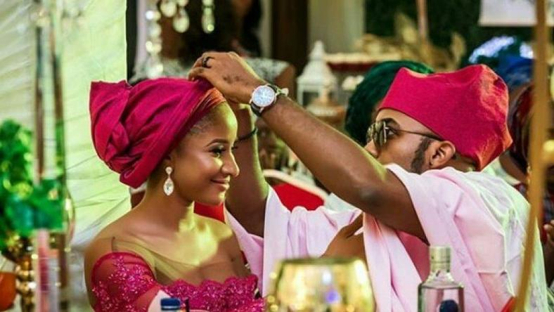 Banky W takes time out of his busy political career to celebrate wife, Adesua Etomi on her birthday.