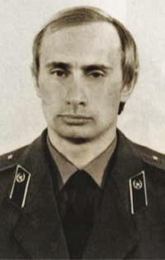 Vladimir Putin kao oficir KGB-a