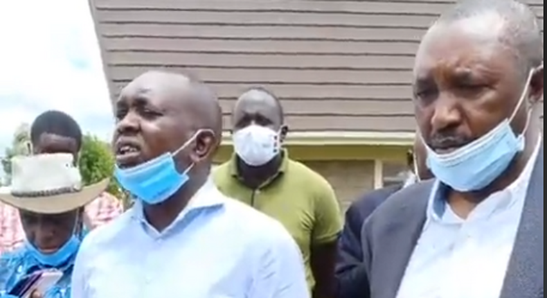 Kapseret MP Oscar Sudi claims Mungiki has been hired to attack DP Ruto's backyard