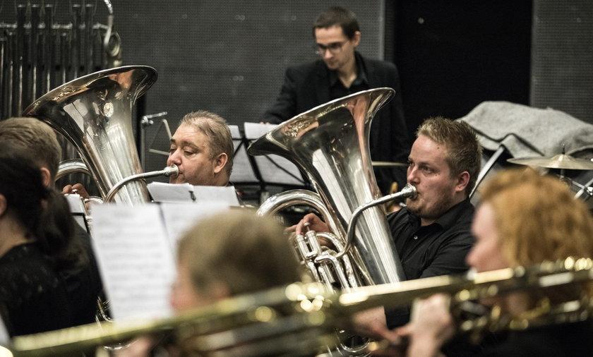 Muzycy z Danii grają na pl. Wolności