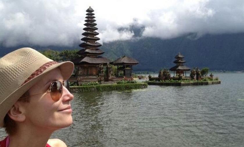 Katarzyna Zielińska na wakacjach