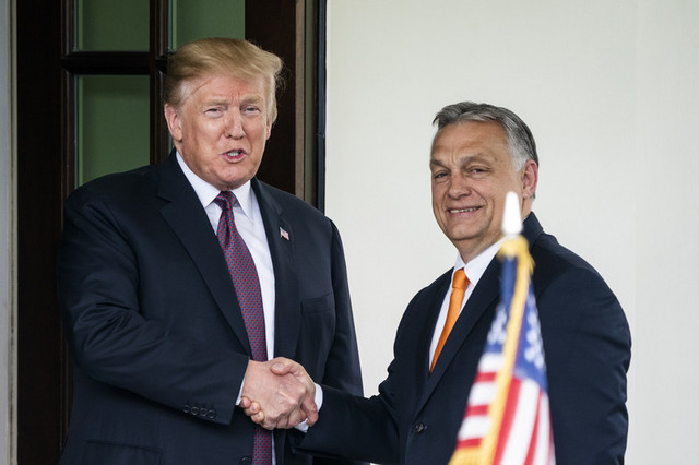 Viktor Orban i Donald Tramp