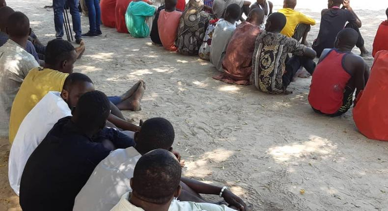 Police parade 76 suspects for various crimes in Borno (NAN)