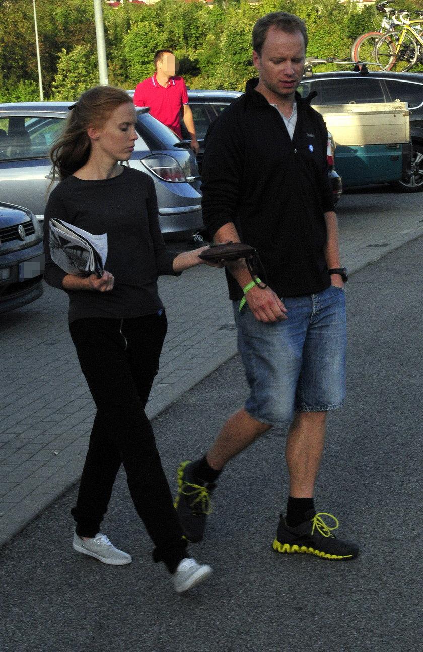 Katarzyna Błażejewska i Maciej Stuhr