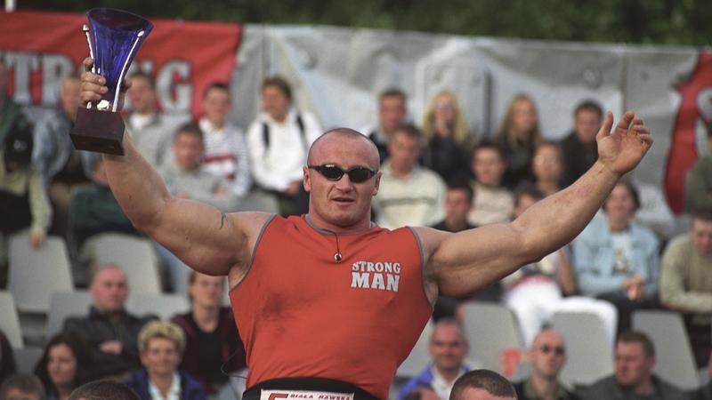 Mariusz Pudzianowski 2002