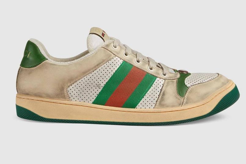 c07835997e90 Gucci sprzedaje brudne trampki za ponad 3 tysiące złotych