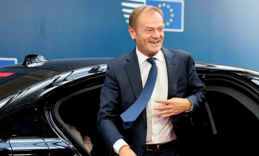 Donald Tusk, przewodniczący Platformy Obywatelskiej i szef Europejskiej Partii Ludowej.