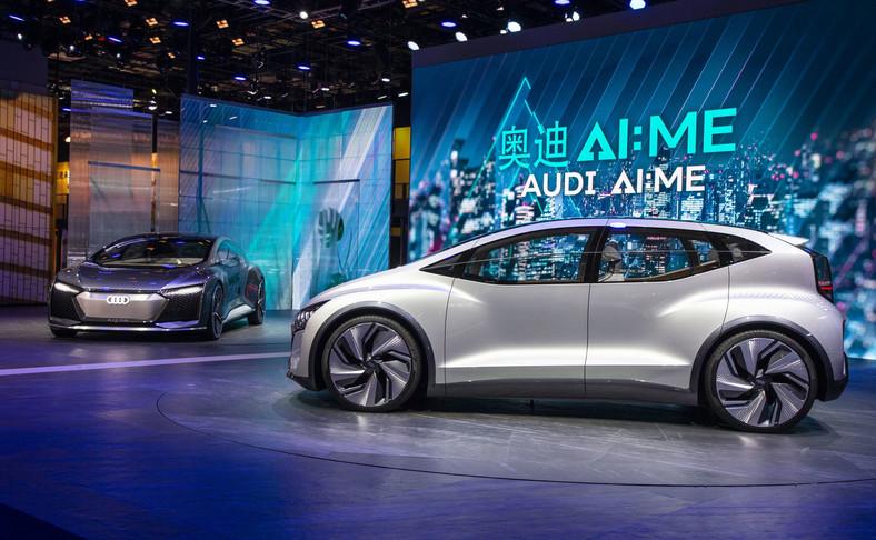 Audi AIcon oraz Audi AI:ME