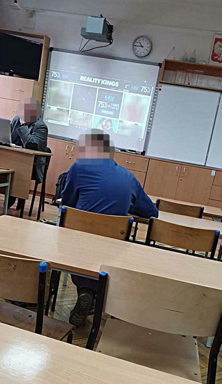 Porno w szkole