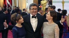 """Trzebuchowska i Kulesza na korytarzu w trakcie przyznawania Oscara """"Idzie"""""""