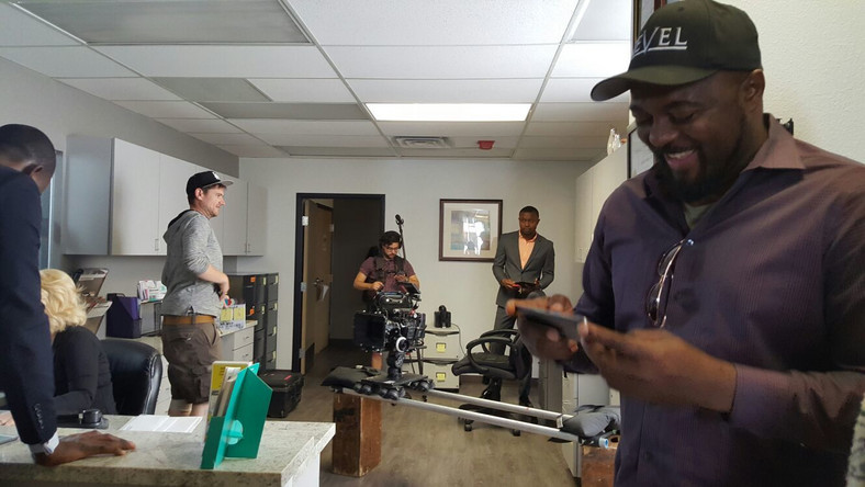 "Behind the scenes of Ike Nnaebue's ""Loving Daniella"""