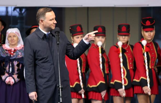 Prezydent Andrzej Duda, PAP/Grzegorz Momot