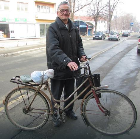 Jozo Maleš, neumorni biciklista iz Gradiške