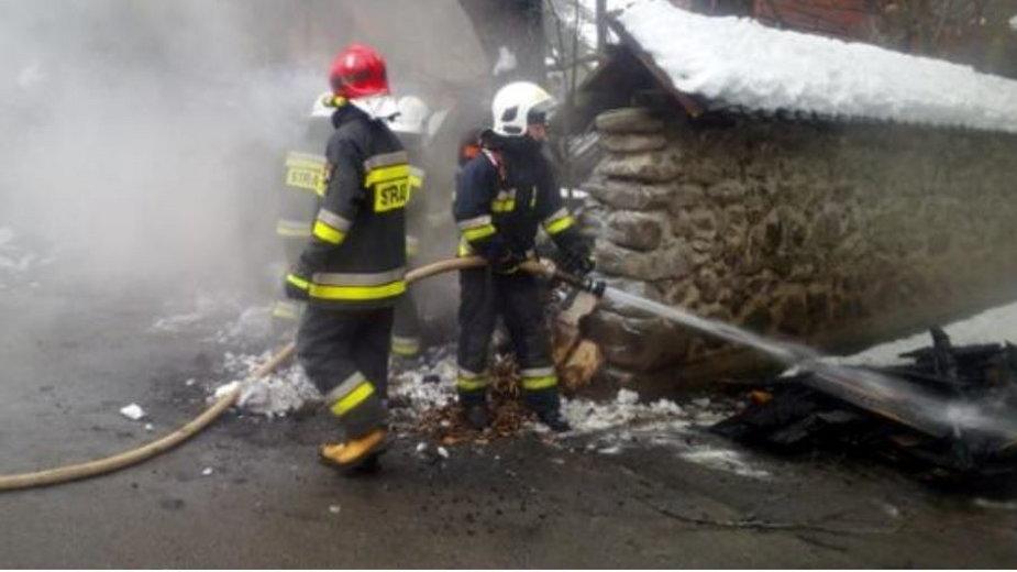 """Pożar w """"Pustelni"""" ks. Natanka wybuchł w niedzielę 18 kwietnia"""