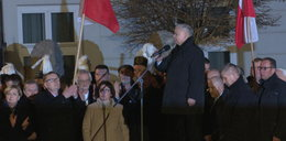 Burzliwe obchody 83 miesięcznicy katastrofy smoleńskiej