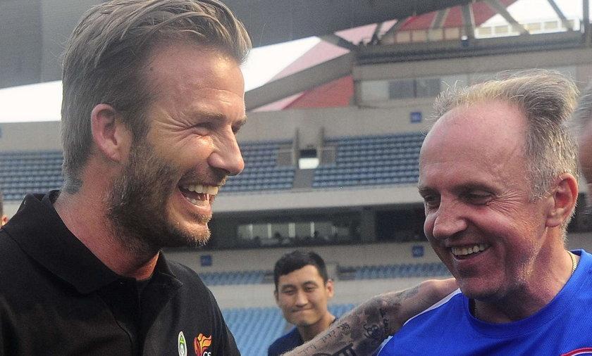 David Beckham, Dragomir Okuka