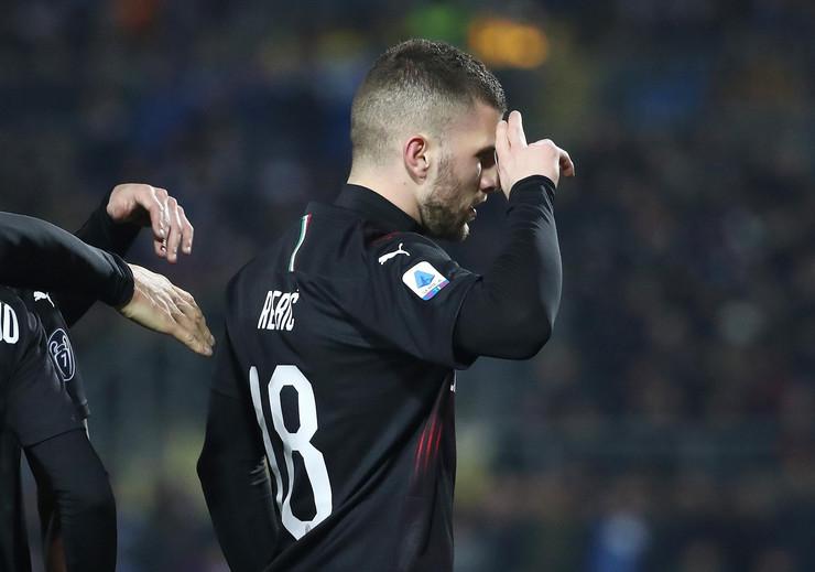 FK Breša - FK Milan