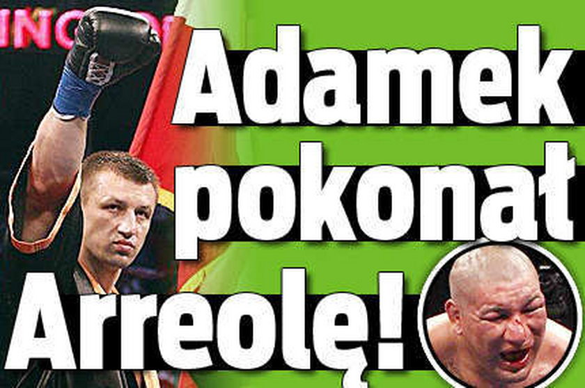 Adamek pokonał Arreolę!