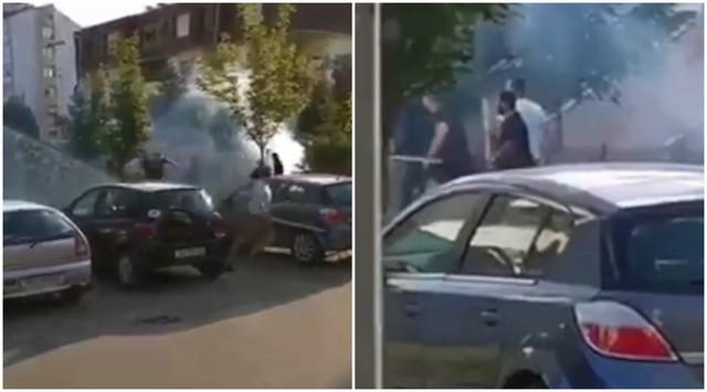 Tuča navijača u Vukovaru