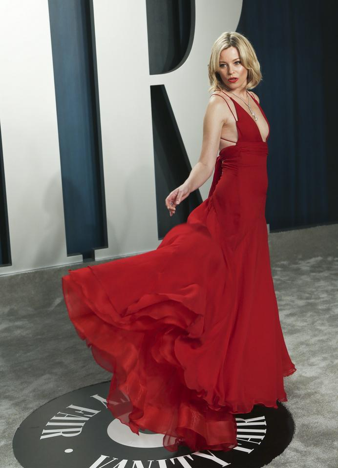 Oscary 2020: Elizabeth Banks na Vanity Fair Oscar Party