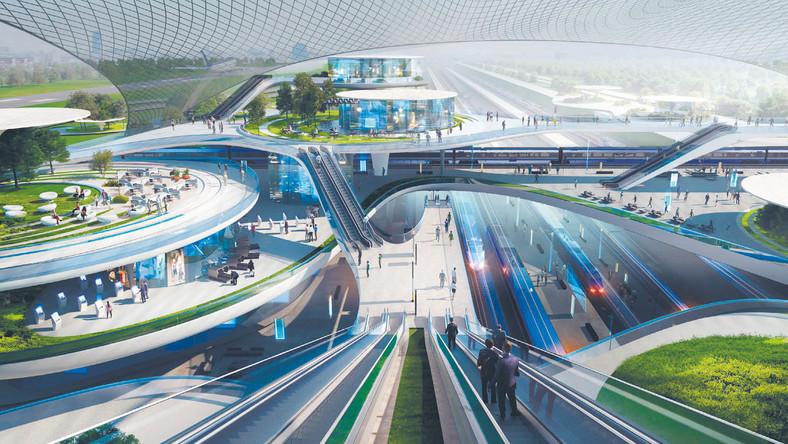 Precyzyjne usytuowanie dwóch pasów startowych, terminala i węzła kolejowego przy porcie ma być znane pod koniec roku