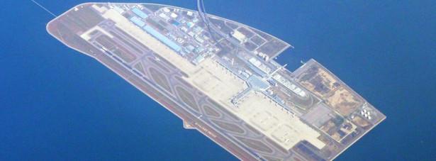 10. Lotnisko w Chubu – jedno z największych japońskich lotnisk, zlokalizowane w okolicy Nagoi. Ciekawostką jest, to, że jest to już 3 lotnisko, które zostało zbudowane na sztucznej wyspie w Japonii.