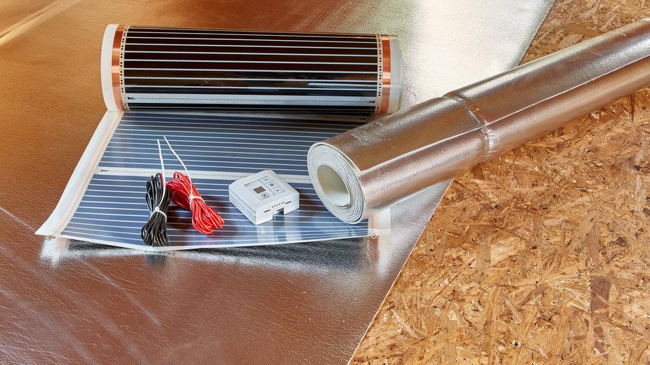 Ogrzewanie na podczerwień nie wymaga instalacji pieca -  DGM Photo/stock.adobe.com
