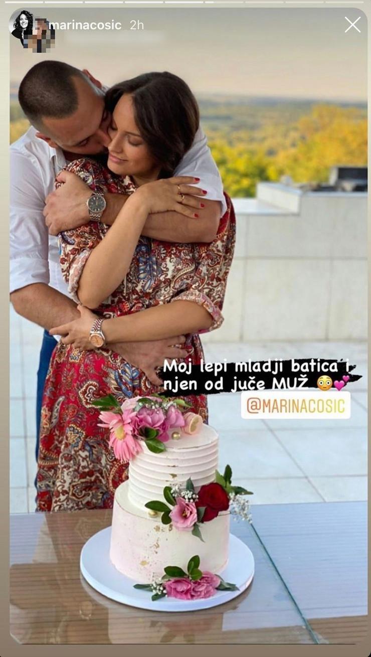 Venčanje Marine Ćosić