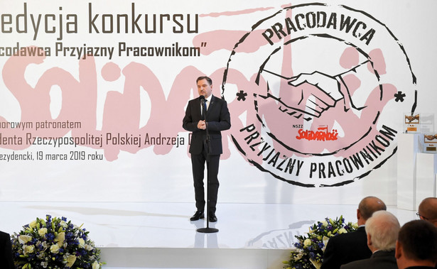 Piotr Duda, lider Solidarności