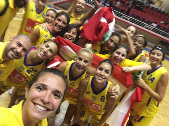 Sa novim saigračicama, na turniru u Turskoj - Milica Dabović