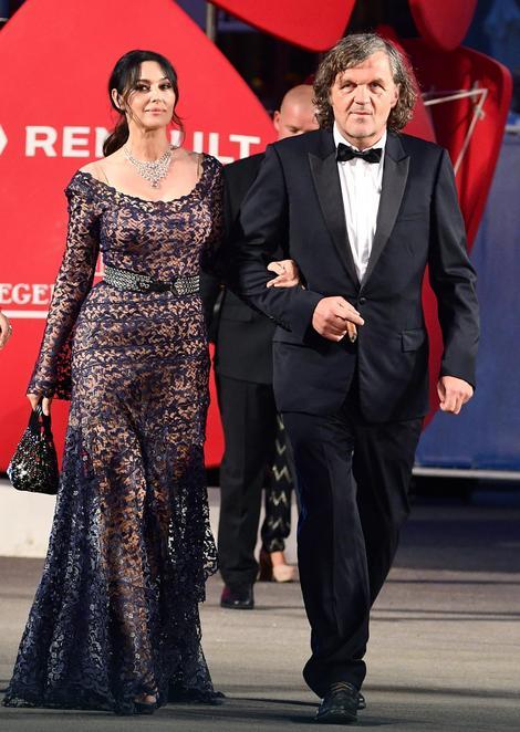 Monika Beluči i Emir Kusturica u Veneciji