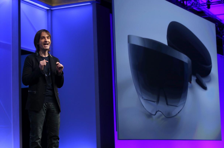 Alex Kipman, szef zespołów zajmujących się wirtualną rzeczywistością w Microsofcie