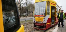 Zderzenie tramwajów na Kościuszki. 4 osoby ranne