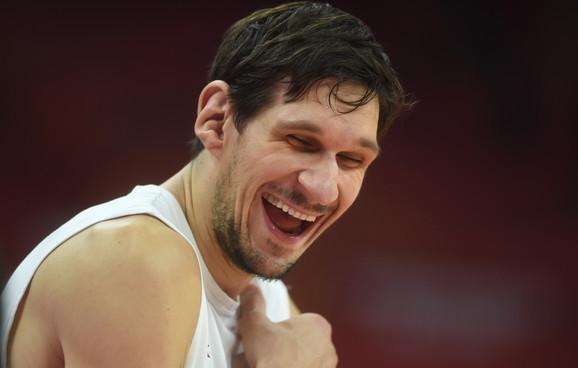 Boban Marjanović pred meč Srbija - SAD