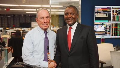 Aliko Dangote and other top CEOs to attend 2019 Bloomberg Global Business Forum