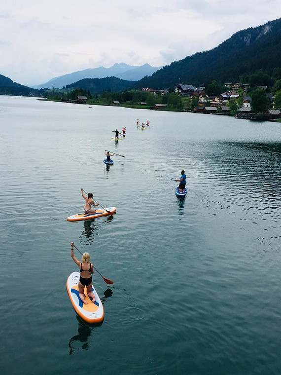 Stand Up Paddling na Jeziorze Weissensee