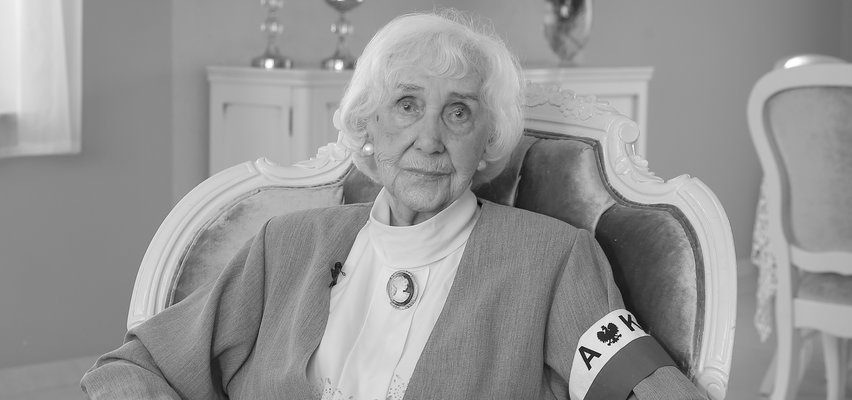 Nie żyje Lucyna Adamkiewicz. Była łączniczką w Powstaniu Warszawskim