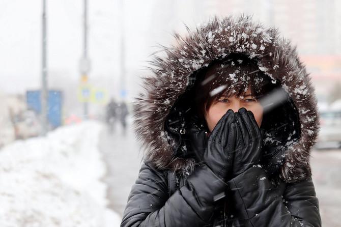 Kako telo reaguje na pad temperature?