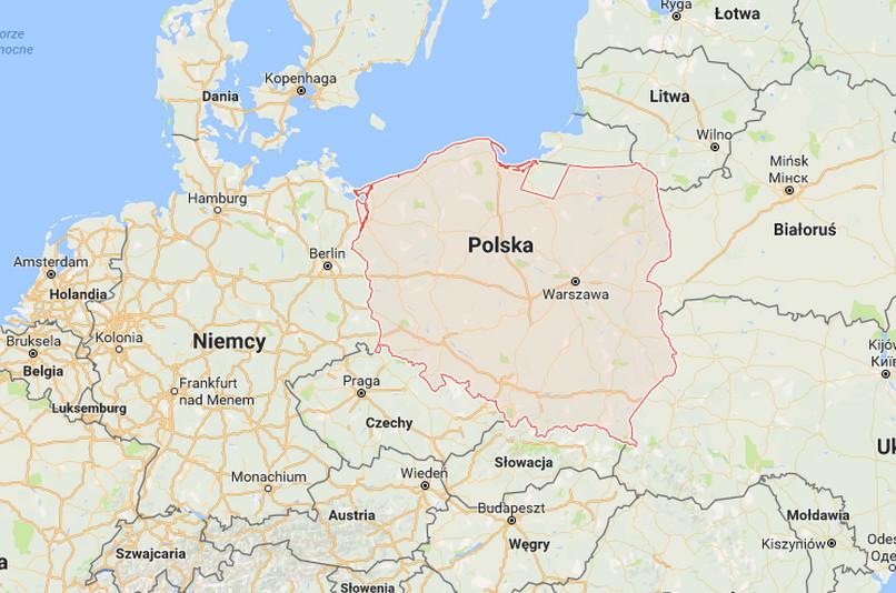 google mapa polski Google Mapa Polski | Mapa
