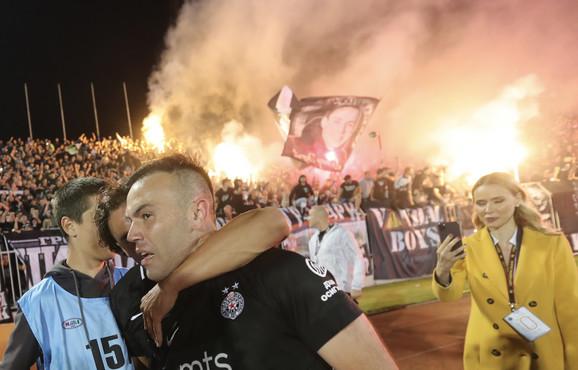 Natho nakon jubilarnog 200. večitog derbija na kome je postigao pogodak za pobedu i plasman u finale Kupa Srbije