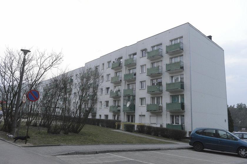 Blok na os. XXX-lecia w Krapkowicach na Opolszczyźnie