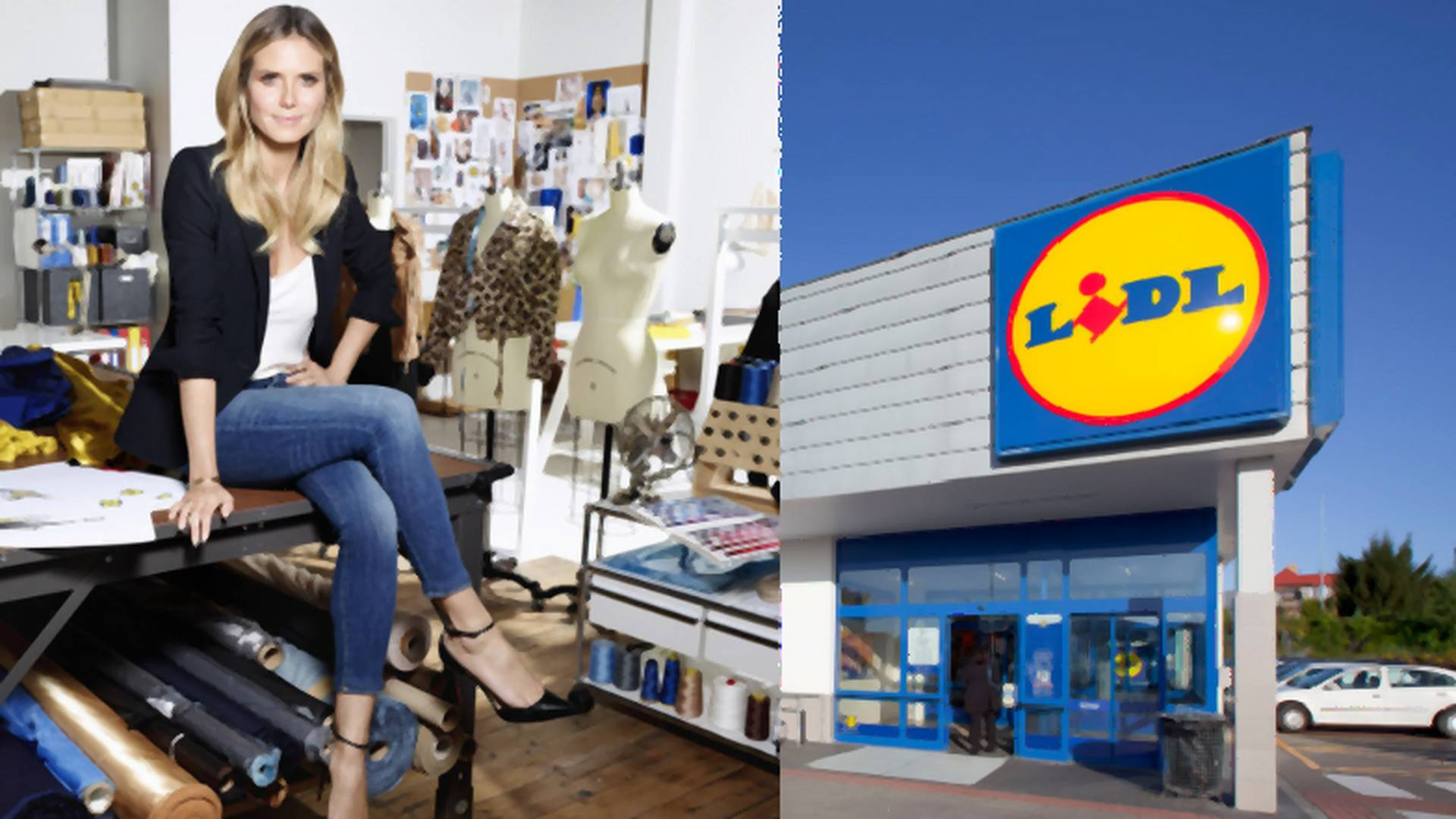 Lidl z kolekcją Heidi Klum na New York Fashion Week! Znamy ceny