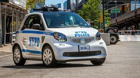 Smart ForTwo - nowy pojazd dla policji